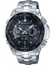 Casio ECW-M300EDB-1AER Mens bouwwerk wave receptor op zonne-energie horloge