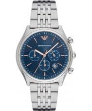 Emporio Armani AR1974 Mens kleden zilveren stalen armband horloge