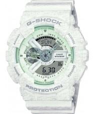 Casio GA-110HT-7AER Mens G-SHOCK wereldtijd wit combi horloge
