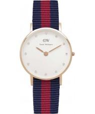 Daniel Wellington DW00100064 Ladies classy Oxford 26mm rose gouden horloge