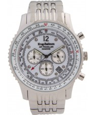 Krug-Baumen 600301DS Mens luchtreiziger diamanten horloge