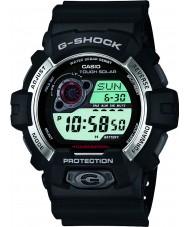 Casio GR-8900-1ER Mens G-SHOCK op zonne-energie zwart kunststof band horloge
