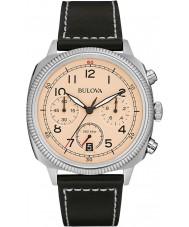 Bulova 96B231 Mens militaire uhf beige chronograafhorloge