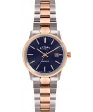 Rotary LB02737-05 Ladies uurwerken wreker two tone rose horloge
