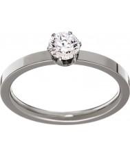 Edblad 31630132-S Ladies kroon zilveren stalen ring - de grootte n (en)
