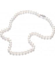 Purity 925 PUR6145 Ladies witte parel 45cm ketting