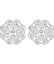 Thomas Sabo H1881-051-14 Ladies filigraan arabesk zilveren oorknopjes