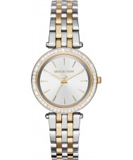 Michael Kors MK3405 Ladies mini Darci two tone stalen armband horloge