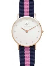 Daniel Wellington DW00100065 Ladies classy winchester 26mm rose gouden horloge