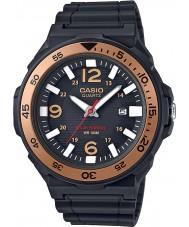 Casio MRW-S310H-9BVEF Mens collectie zonne-energie zwart kunststof band horloge