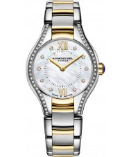 Raymond Weil 5124-SPS-00985 Ladies Noemia two tone staal Diamond Watch