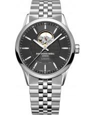 Raymond Weil 2710-ST-20021 Mens freelancer zilveren stalen armband horloge