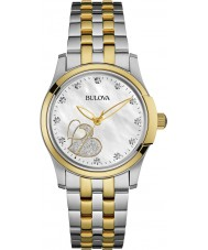 Bulova 98P152 Ladies diamanten horloge