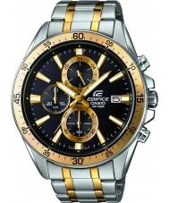 Casio EFR-546SG-1AVUEF Mens bouwwerk two tone stalen armband horloge