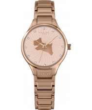 Radley RY4244 Dames op de vlucht rose goud vergulde armband horloge