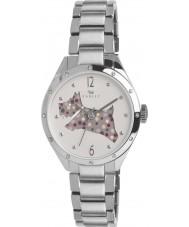 Radley RY4159 Dames zilveren doorsnijden hond armband horloge