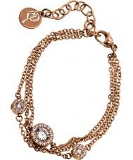 Edblad 41530058 Ladies thassos trio rose gouden armband