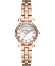 Michael Kors MK3558 Ladies Norie rose goud vergulde armband horloge