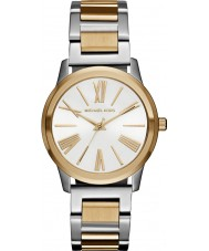 Michael Kors MK3521 Ladies Hartman two tone stalen armband horloge