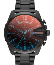 Diesel DZ4318 Mens mega chief zwart ip chronograafhorloge
