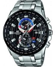 Casio EFR-550D-1AVUEF Mens bouwwerk zilveren stalen armband horloge