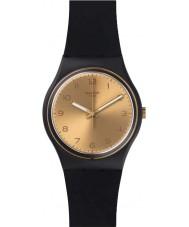 Swatch GB288 Original gent - gouden vriend te kijken