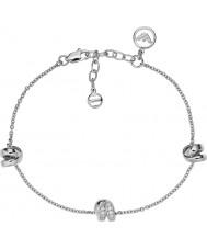 Emporio Armani EG3315040 Ladies Stelle sterling zilveren armband