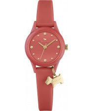 Radley RY2372 Ladies watch it papaya siliconen band horloge