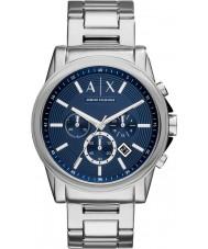 Armani Exchange AX2509 Men's jurk zilver staal chronograafhorloge