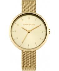 Karen Millen KM135GM Dames vergulde armband horloge
