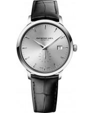 Raymond Weil 5484-STC-65001 Mens toccata zwart lederen band horloge