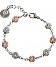 Edblad 41530060 Ladies Thassos meerdere rose gouden armband