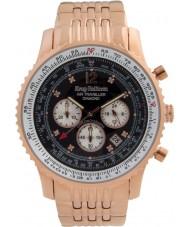 Krug-Baumen 600602DS Mens luchtreiziger diamanten horloge