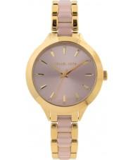 Michael Kors MK3633 Dames slim runway-horloge