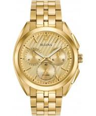 Bulova 97A125 Mens progressief jurk kromme horloge