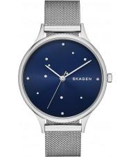 Skagen SKW2391 Ladies anita zilveren mesh armband horloge met Oostenrijkse kristallen