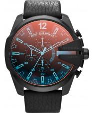 Diesel DZ4323 Mens mega chief zwarte chronograaf