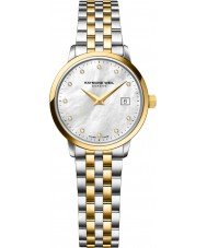 Raymond Weil 5988-STP-97081 Ladies toccata two tone staal Diamond Watch