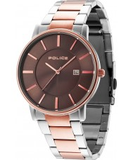Police 14496JSTR-13M London two tone stalen armband horloge