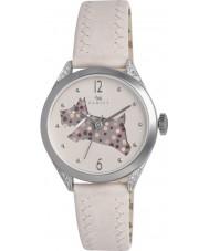 Radley RY2177 Dames crème lederen band horloge