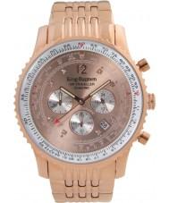 Krug-Baumen 600603DS Mens luchtreiziger diamanten horloge