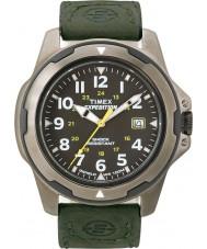 Timex T49271 Mens Black groen expeditie ruige gebied horloge