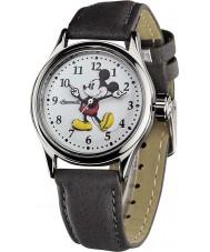 Disney by Ingersoll 25570 Dames klassieke mickey mouse grijs nubuck riem horloge