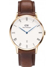 Daniel Wellington DW00100083 Mens dapper 38mm st mawes rose gouden horloge