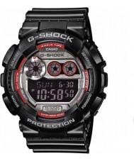 Casio GD-120TS-1ER Mens G-SHOCK wereldtijd zwarte digitaal horloge