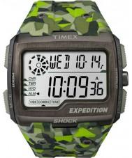 Timex TW4B07200 Mens raster shock groene hars Strap Watch