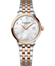 Raymond Weil 5988-SP5-97081 Ladies toccata two tone staal Diamond Watch