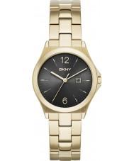 DKNY NY2366 Ladies parsons vergulde horloge