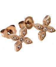 Edblad 31630049 Ladies Windsor rose goud verguld oorbellen