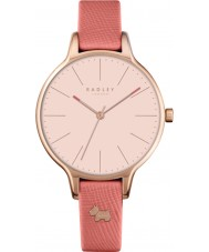 Radley RY2388 Ladies Millbank papaya lederen band horloge